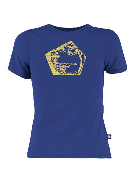 E9 Henry - T-shirt manches courtes Enfant - jaune/bleu